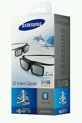 Samsung SSG-51002 Battery Operated 3D Active Glasses  Pack of 2  New for 2013