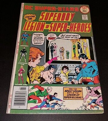 DC SUPER-STARS #3  featuring SUPERBOY and THE LEGOIN OF SUPER-HEROES!