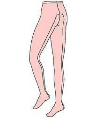 CAPEZIO ADULT DANCE TIGHTS - FOOTED w/Seams #5- Small or Large - BALLET PINK