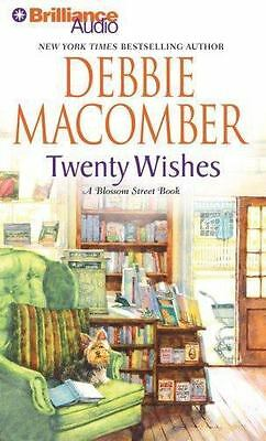 TWENTY WISHES bestselling audio book on CD by DEBBIE MACOMBER - Brand New!