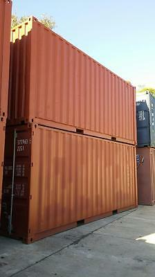 PREMIUM - 6m (20ft) USED SHIPPING CONTAINER!