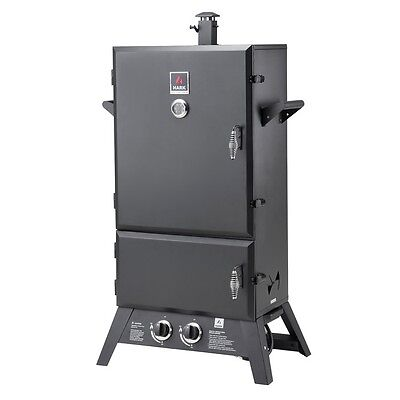 "Hark-BIG BOSS -Jumbo 43"" 2-Door-Gas-Smoker-HK0535  Brand NEW - FREE DELIVERY"