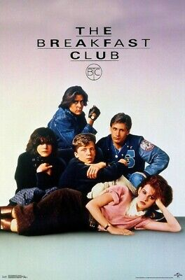 UNIVERSAL STUDIOS THE BREAKFAST CLUB POSTER NEW 24x36 FREE SHIPPING