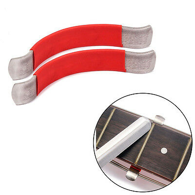 2X String Spreaders for Guitar Luthier Care Tool For Cleaning Fretboard Red