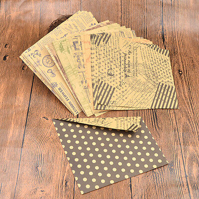 60 Pcs Double Side Kraft Paper Chiyogami DIY Vintage Origami Hand Craft