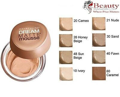 Maybelline Dream Matte Mousse Foundation 18ml - Choose Your Shade