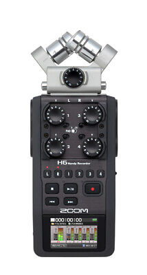Zoom H6 Portable Field Recorder 6-Channel Handy Recorder with Removable Mics