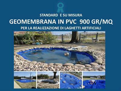 Telo in PVC per laghetto artificiale 6x5m
