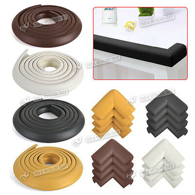 Baby kids Child Safety Table Edge Corner Cushion Guard Strip Bumper Protector