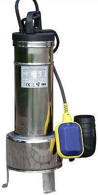 IBO SWQ Heavy Duty 2.2 kW Submersible Pump-Sewage Septic Dirty Water SHREDDER