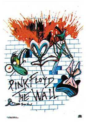 Pink Floyd The Wall Music Textile Flags Wall Hanger  Silk Screen Printed Lo63