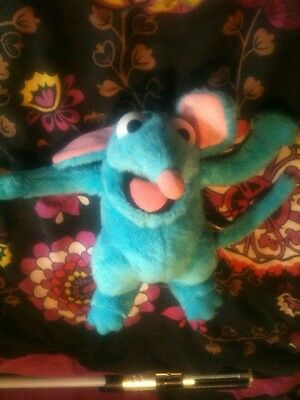 """Bear In The Big Blue House - 10"""" Tutter Mouse Plush Soft Toy"""