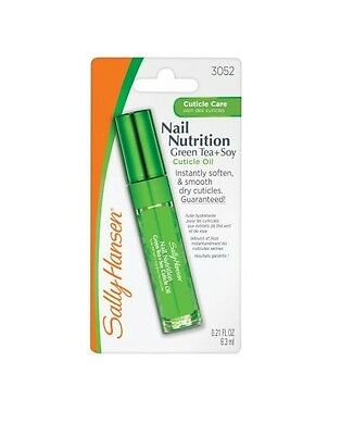 Sally Hansen Nail Nutrition Green Tea + Soy Cuticle Oil Treatment  smooth effect