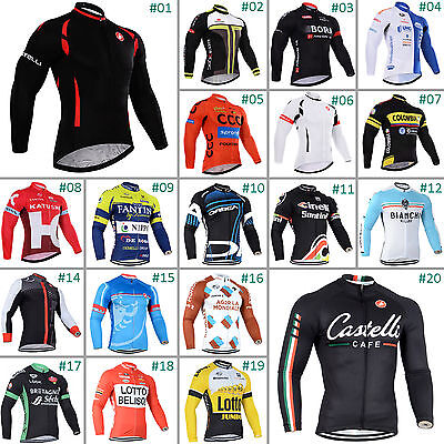 New Styel Cycling Jersey Bike Bicycle Outdoor Racing Tops Outfits Long Sleeve