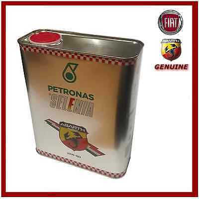 Genuine Petronas Selenia Abarth 10W-50 Engine Oil 13133701