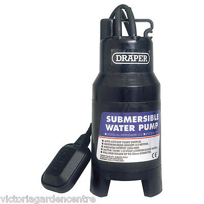 DRAPER TOOLS Electric Submersible Pump Dirty Water Pool Garden Flood Well Pond