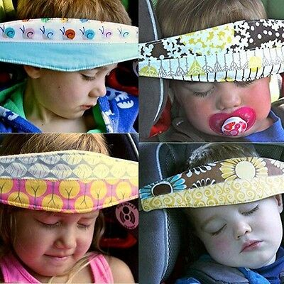 Safety Baby Car Seat Headrest Pillow Sleeping Head Holder Belt For Kids Travel