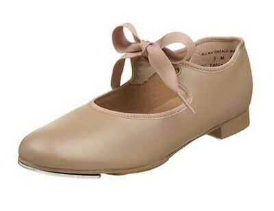Capezio 625T Toddler Size 8W Tan Jr. Tyette Tap Shoes