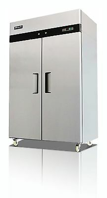 Migali 2 Solid Door Commercial Upright Reach-In Freezer - C-2F