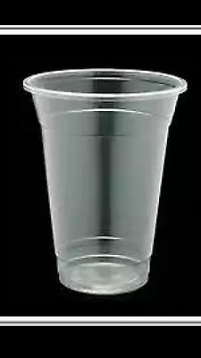 1000 PC Plastic cups Cold cups Drinking cups 425 ML15oz, great buy, super cheap