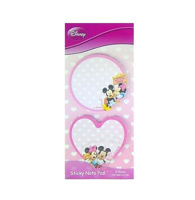 Mickey Mouse Sticky Notepad 60 Sheets /memo Pad/cute Paper/small Note/die-Cut #f