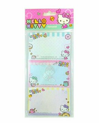 Super Cute Sanrio Hello Kitty 30 Sheets Perforated Notepad #b