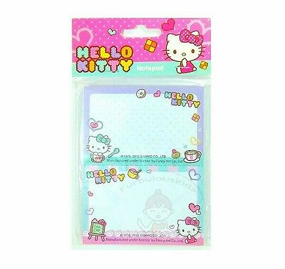 Super Cute Sanrio Hello Kitty 50 Sheets Perforated Notepad #d