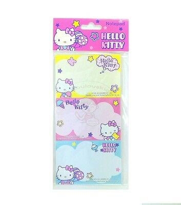 Super Cute Sanrio Hello Kitty 30 Sheets Perforated Notepad #d
