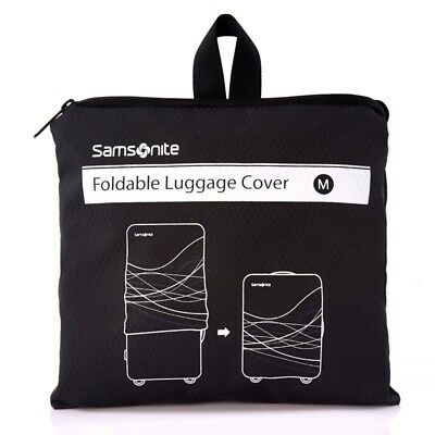 Samsonite Small Foldable Luggage Cover Black