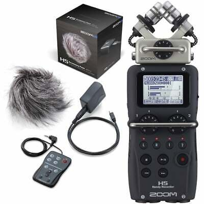 Zoom H5AP Portable Field Recorder 4-Channel Handy Recorder with Accessory Pack
