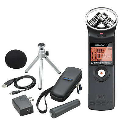 Zoom H1AP Portable Handheld Field Recorder w/ Accessory Pack - Australian Stock