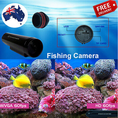 Fishing Camera HD Waterproof Underwater 50M/165FT Attachable Fishing Line AUSell
