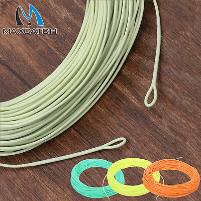 Floating Fly Line WF 2/3/4/5/6/7/8F Trout Yellow/Green/Orange Fly Fishing Line