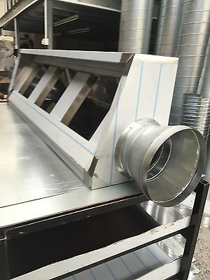 COMMERCIAL KITCHEN CANOPY 7FT Or 8FT