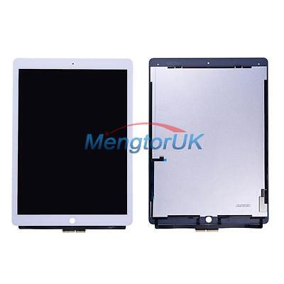 "White LCD Touch Screen Digitizer Replacement Parts For Apple iPad Pro 12.9"" UK"