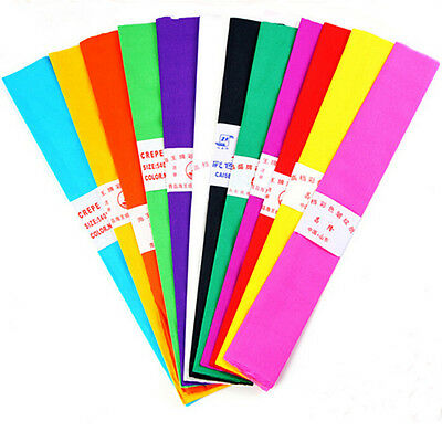 1PCS Crepe Paper Streamer Birthday Wedding Party Decoration Garland Craft Table