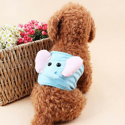 Male Dog Diaper Belly Band Nappy Pants Puppy Sanitary Pet Washable Underwear