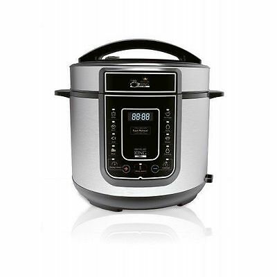 Pressure King Pro 12-in-1 5 Litre Electric Pressure Cooker UK SELLER