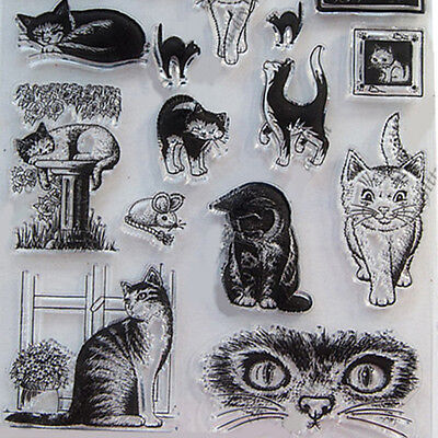 Cat Scrapbooking Cutting Dies Stencil DIY Album Card Paper Embossing Craft Gifts