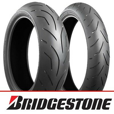 Bridgestone S20 EVO Motorcycle Tyre Pair Deal 120/70 ZR17 & 180/55/ZR17 *NEW*
