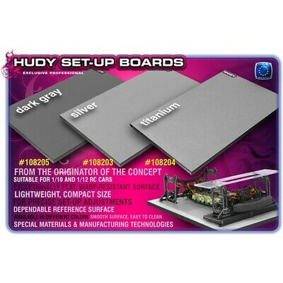 NEW Flat Set-Up Board For 1/10 Touring Car (Hd108203) from RC Hobby Land