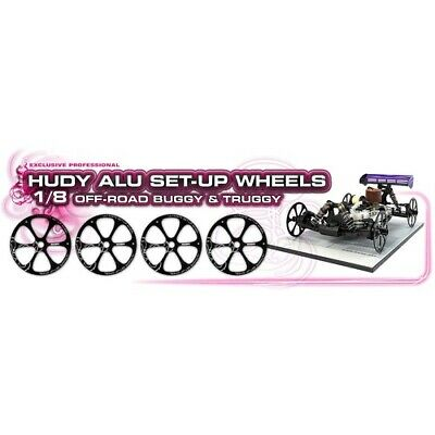 NEW Alu Set-Up Wheel For 1/8 Off-Road Buggy (Hd108870) from RC Hobby Land