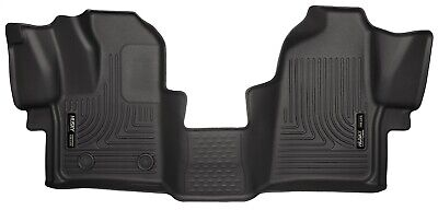 Husky Liners WeatherBeater Front Floor Mats 2015-2019 Ford Transit 150 250 350