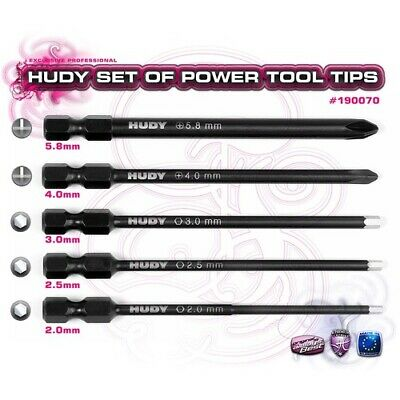 NEW Set Of Power Tool Tips 2.0, 2.5, 3.0mm (Hd190070) from RC Hobby Land