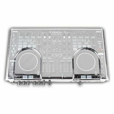Decksaver Denon MC6000 Mk2 Cover (smoked clear)