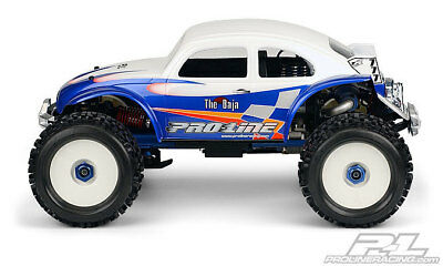 NEW Vw Baja Clear Body Fits T/E/3.3 Maxx Long (Pr3238-60) from RC Hobby Land