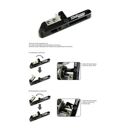 NEW Aluminum Clutch Assembly Tool (Mr-Cat) from RC Hobby Land