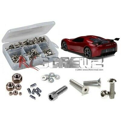 NEW Traxxas Xo-1 Rtr Ss Screw Kit (Rctra047) from RC Hobby Land