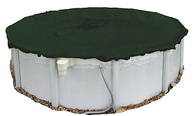 Winter Pool Cover Above Ground 28 Ft Round Arctic Armor 12Yr Warranty w/ Clips