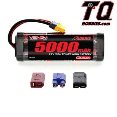 Venom 1548 NiMH 6-Cell 7.2V 5000mAh Stick Battery Pack Fast Free ship wTrack#